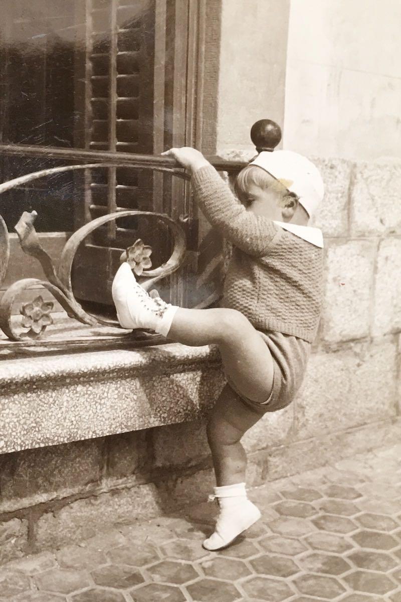 Sitges 1934 – Manolo se inicia en la escalada