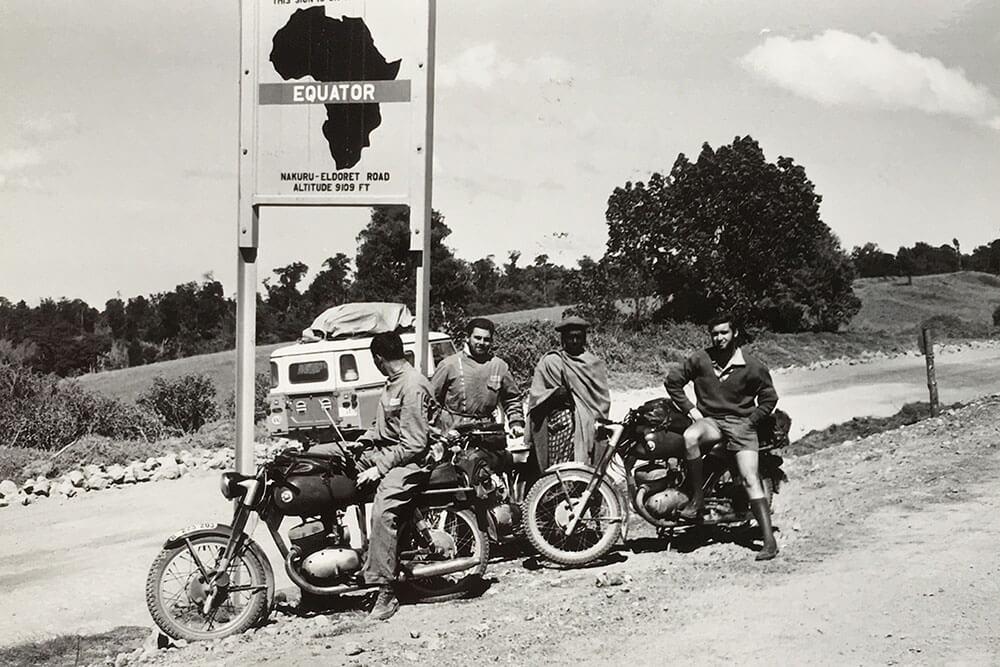 15 Febrero 1962 – Cruce del Ecuador