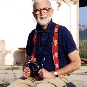 Manolo Maristany en Marsà-Falset en mayo de 2004